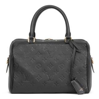 Louis Vuitton Monogram Empreinte Speedy Bandouliere 25 Bag