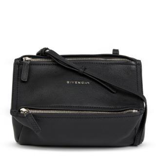 Givenchy Pandora Black Leather Cross-Body Bag