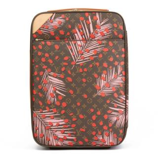 Louis Vuitton  Poppy Jungle Monogram Pegase Legere 55