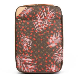 Louis Vuitton  Poppy Jungle Monogram Pegase Legere 55