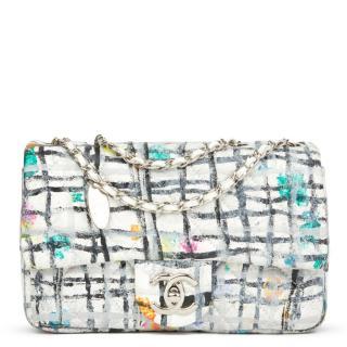 Chanel Hand-painted Lambskin Graffiti Mini Flap Bag