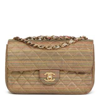 Chanel Metallic Sheepskin Classic Flap Bag