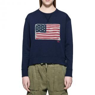 Polo Ralph Lauren Blue Flag Sweatshirt