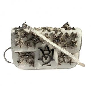 Alexander Mcqueen Star embroidered Insignia Chain Bag