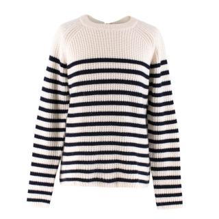 Joseph Sailor Striped Cashmere Sweater