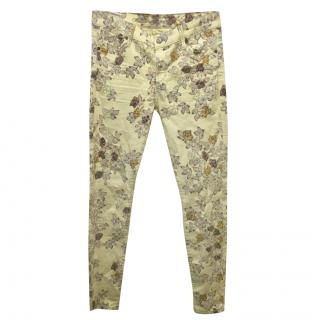 Citizens of Humanity Avedom Floral-Print Jeans