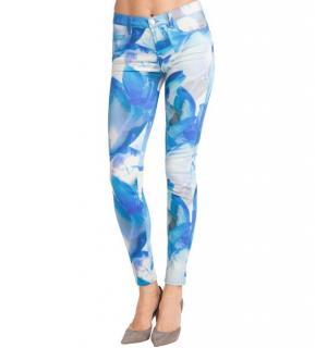 J Brand Super Skinny Blue Orchid Jeans