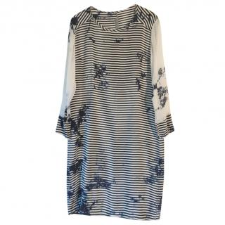 Raquel Allegra Silk Shift Dress