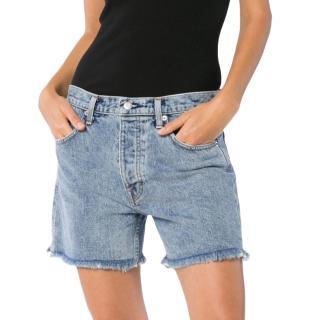 Helmut Lang Boyfriend-fit cut off shorts