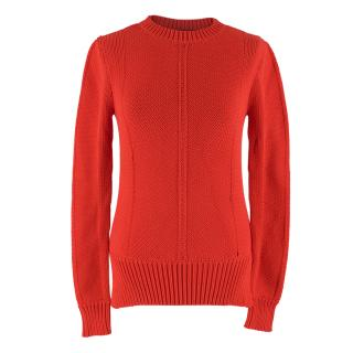 Derek Lam Red Knit Jumper