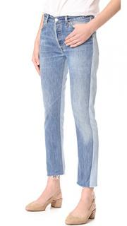 Re/Done Levi's Two Tone Relaxed Fit Jeans