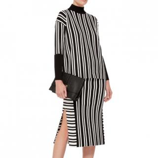 Tanya Taylor Striped Timmy Turtleneck Sweater