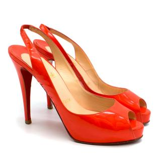 Christian Louboutin Framboisine Very Prive 120 Pumps