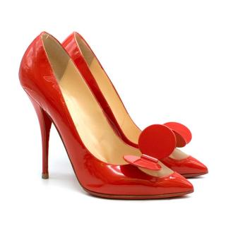Christian Louboutin Madame Mouse patent-leather pumps