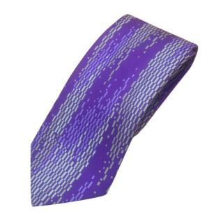 Liberty Purple Printed Silk Tie