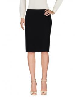 Alexander McQueen Black Pencil Skirt