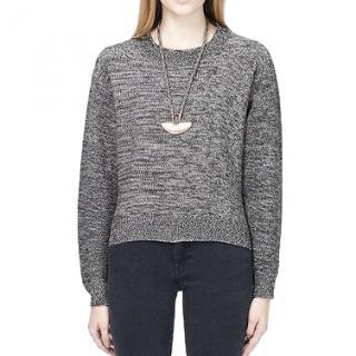 Acne Studios Bird linen-blend sweater