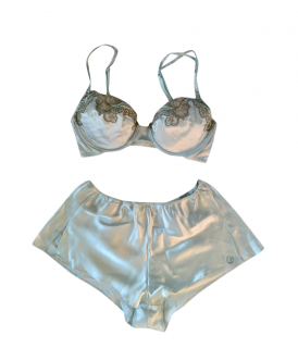 Christie's Azzure Luna Bra & French Knickers
