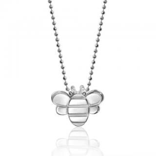 Alex Woo Seasons Bee Pendant Necklace
