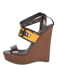 Belstaff Leybourne Platform Wedge Sandals