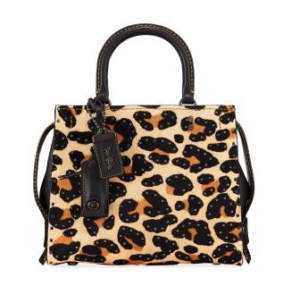 Coach Leopard Print Rogue 25 Tote bag