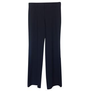 Chanel Black Classic Wool Pants