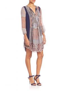 Diane Von Furstenberg Kailyn Chiffon Tunic Dress