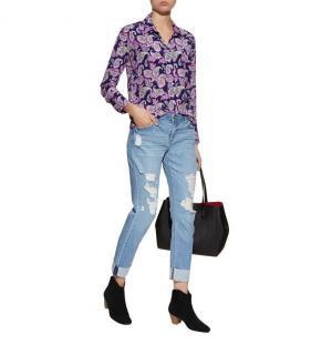 Sandro Printed Meg Shirt