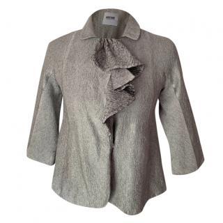 Moschino Cheap & Chic ruffle front jacket