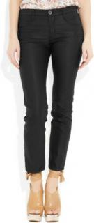 Theyskens� Theory Black Weji Washed Plyne Jeans