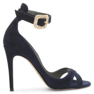 Gina navy blue Lilla sandals