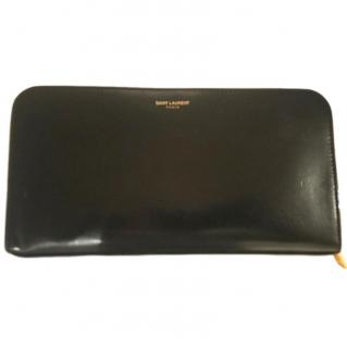 Saint Laurent Black Calfskin Wallet