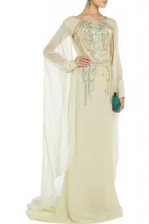 Antonio Berardi Pastel Green Grecian Gown