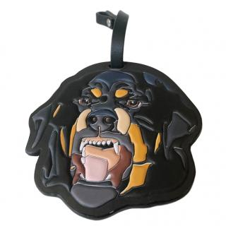 Givenchy Rottweiler Leather Keyring