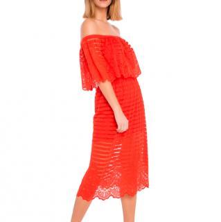 Alice McCall Hallelujah off-the-shoulder dress