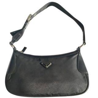 Prada Black Nylon & Leather Bag