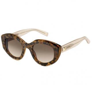 Max Mara Tortoiseshell Butterfly Sunglasses