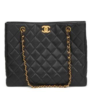 Chanel Vintage Caviar Leather Shoulder Bag