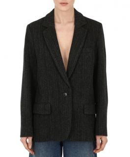 Isabel Marant Etoile Charly Oversized Virgin Wool Jacket