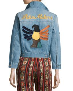 Isabel Marant Etoile Rain Makers Denim Jacket