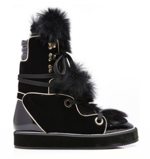 Nicholas Kirkwood Polly Neige Snow Boots