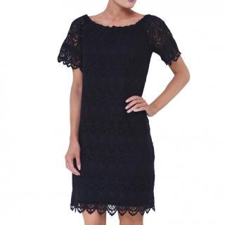 Velvet by Graham & Spencer Gustina Lace Black Dress