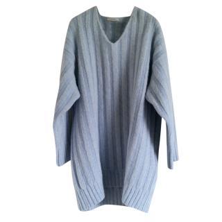 Celine powder-blue wool sweater