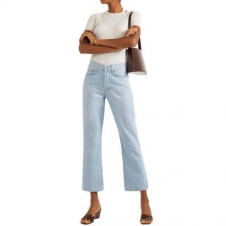 Eve Denim Jane high-rise flared jeans