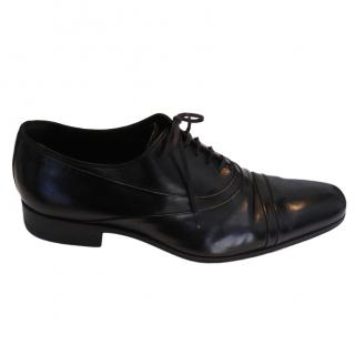 Dior Men's Black Lace-up Brogues