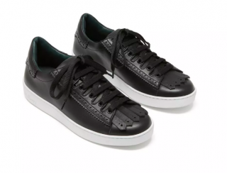 Mulberry Jump fringed leather trainers