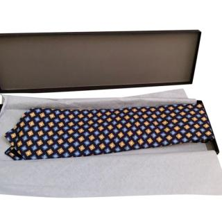 Gucci Silk Printed Tie - New In Box