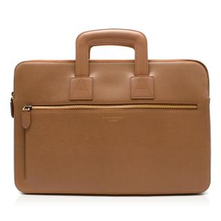Aspinal of London Tan Connaught Document Case