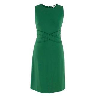 Diane von Furstenberg Green Shift Dress