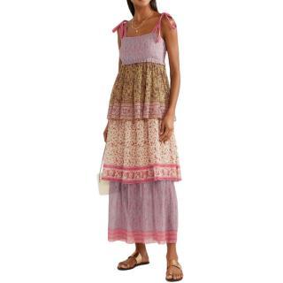 Zimmermann Juniper tiered cotton dress
